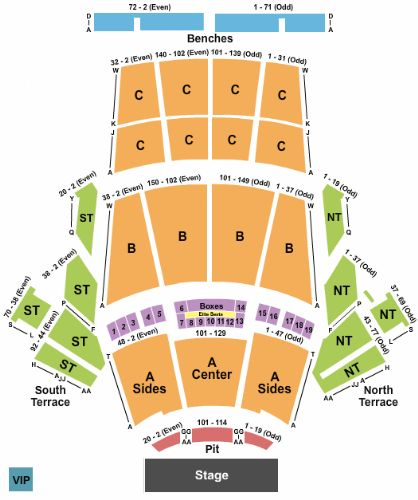 Greek theatre ca tickets and greek theatre ca seating chart buy