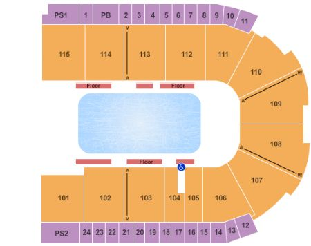 Us cellular coliseum seating numbers for Grossinger motors normal il