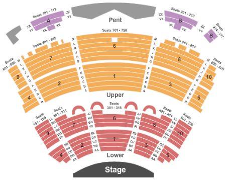 Caesars Palace Seating Chart Atlantic City