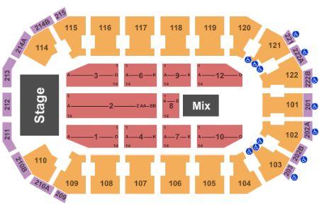 Cedar park center tickets and cedar park center seating chart