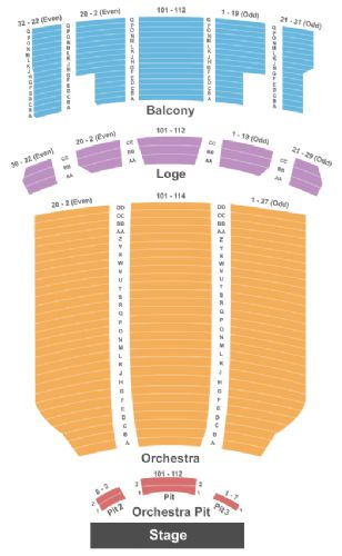 Hershey theatre tickets and hershey theatre seating chart buy