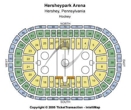 Hersheypark Arena Tickets And Hersheypark Arena Seating Chart Buy