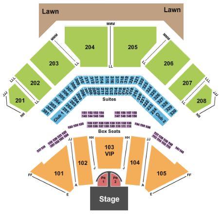 live casino maryland seating chart