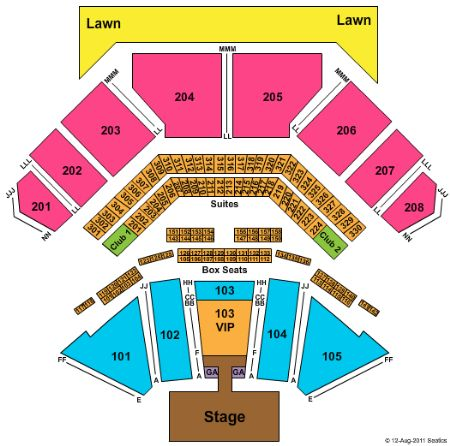 Hollywood Casino Amphitheatre Tickets And Hollywood Casino
