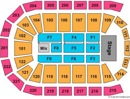 Huntington center seating chart huntington center seating chart