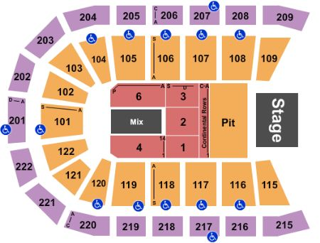 Huntington center tickets and huntington center seating chart buy