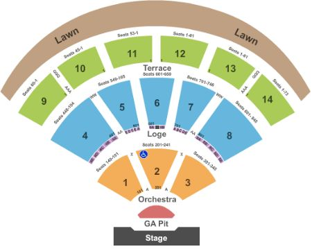 Verizon Wireless Amphitheater Tickets And Verizon Wireless