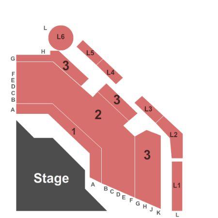 Mgm Theater Seating Chart Las Vegas Brokeasshome Com