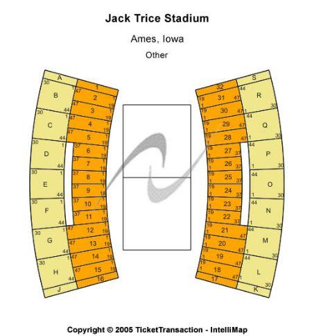 Jack Trice Stadium Tickets And Jack Trice Stadium Seating