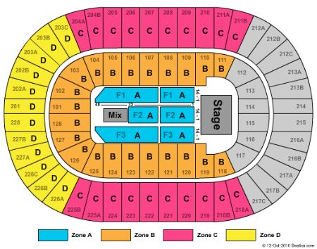 Joe Louis Arena Seating Chart Garth Brooks Joe Louis