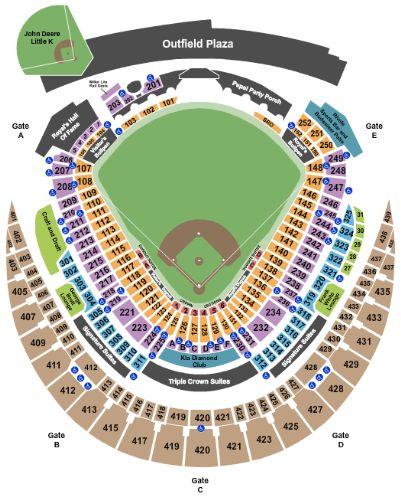 Kansas City Royals Vs Minnesota Twins Tickets Section 431