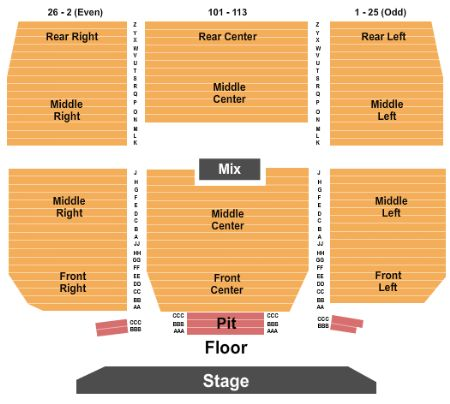 Keswick theatre tickets and keswick theatre seating chart buy