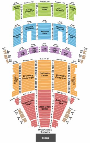 state theatre cleveland seating chart: Keybank state theatre tickets and keybank state theatre seating