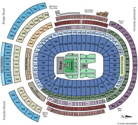 Lambeau field tickets and lambeau field seating chart buy