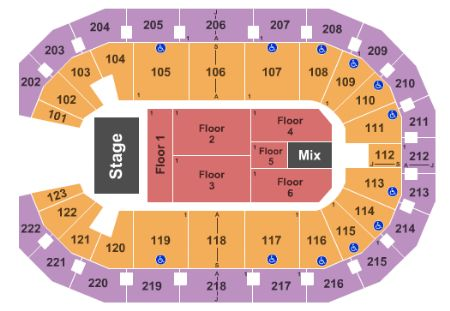 Landers center tickets and landers center seating chart buy