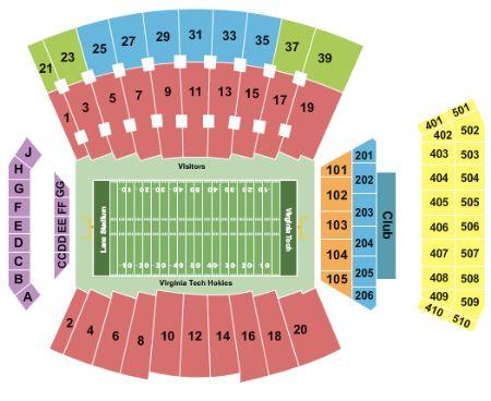Lane stadium tickets and lane stadium seating chart buy lane