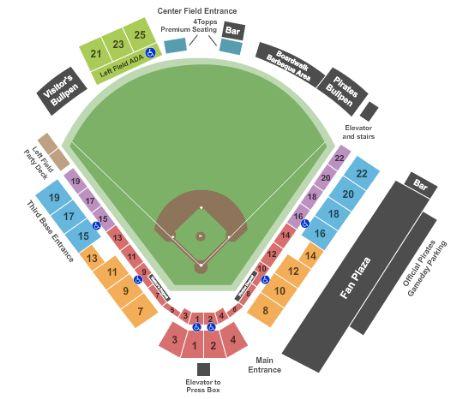 Mckechnie field tickets and mckechnie field seating chart buy