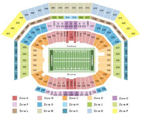 Levis Stadium Capacity >> Levi'stadium Tickets and Levi'stadium Seating Chart - Buy ...