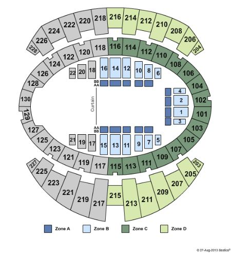 Long Beach Arena Convention Center Tickets And Disney On Ice Seating Chart Staples