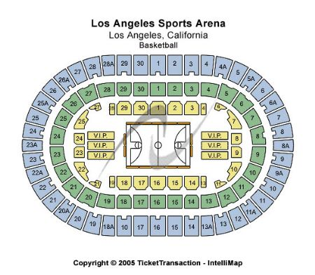 Los angeles sports arena tickets and los angeles sports arena