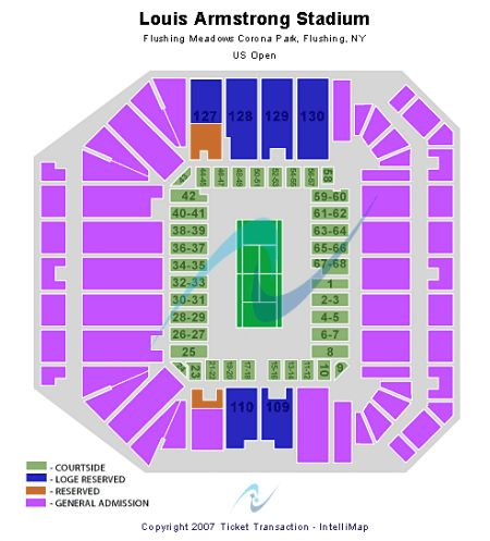 Louis Armstrong Stadium Tickets and Louis Armstrong Stadium Seating ...