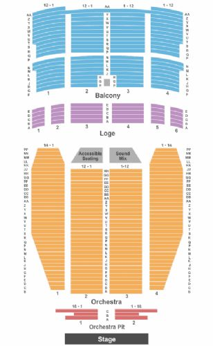 Louisville palace tickets and louisville palace seating chart buy