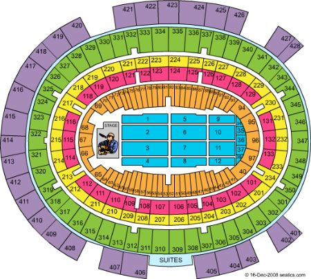 Madison square garden tickets and madison square garden - Madison square garden concert capacity ...