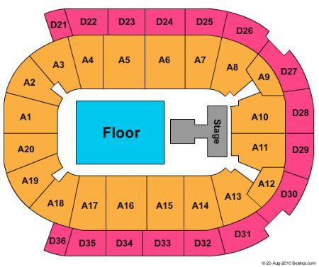 Malmo Arena Tickets and Malmo Arena Seating Chart - Buy