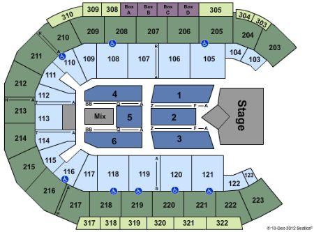 Mandalay Bay Events Center Tickets And Mandalay Bay Events