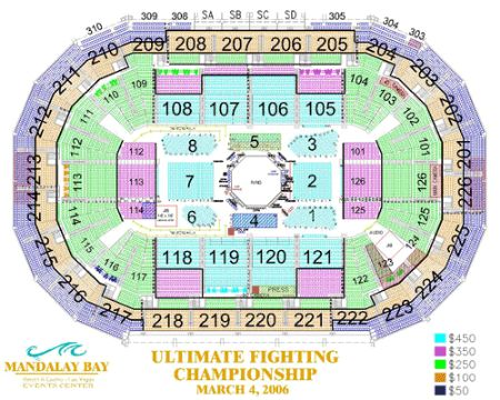 Mandalay bay events center tickets and mandalay bay events