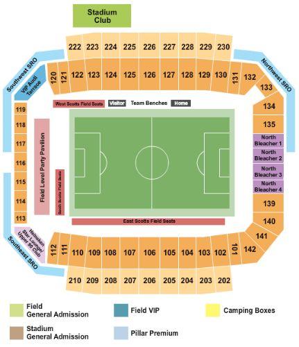 Columbus crew stadium tickets and columbus crew stadium seating