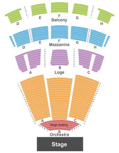 Marina Civic Center Tickets And Marina Civic Center Seating Chart