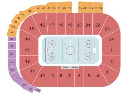 Mariucci arena tickets and mariucci arena seating chart buy