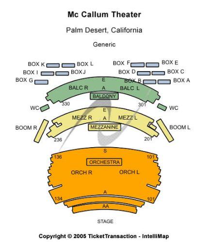 Mccallum theatre tickets and mccallum theatre seating chart buy