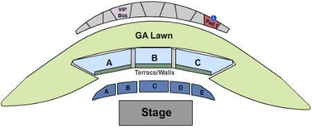 Mcgrath Amphitheatre Tickets And Mcgrath Amphitheatre Seating Chart