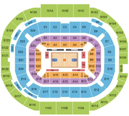 Mckale Center Tickets And Mckale Center Seating Chart Buy