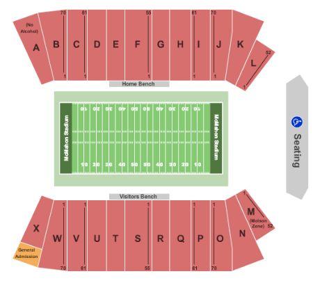 Mcmahon Stadium Tickets And Mcmahon Stadium Seating Chart