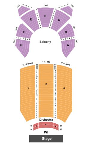Memorial Hall Tickets And Memorial Hall Seating Chart