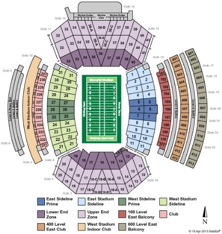Memorial stadium tickets and memorial stadium seating chart buy