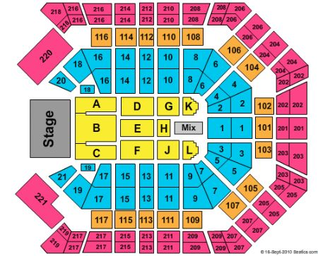 MGM Grand Garden Arena Tickets and MGM Grand Garden Arena Seating
