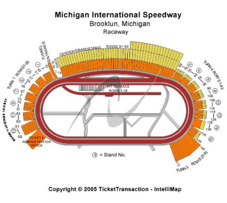 Michigan international speedway tickets and michigan international