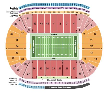 Michigan stadium tickets and michigan stadium seating chart buy