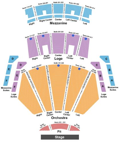 Nokia theatre live la tickets and nokia theatre live la seating