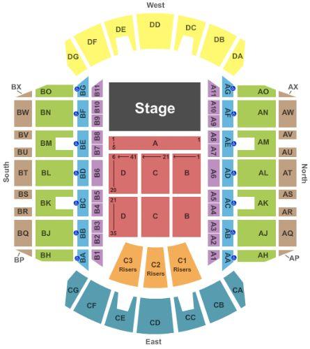 Jackson Ms Coliseum Seating Chart Brokeasshome Com