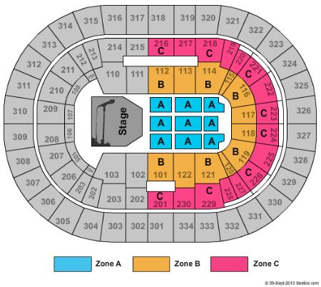 Moda Center Seating Chart View Lastminutecom France