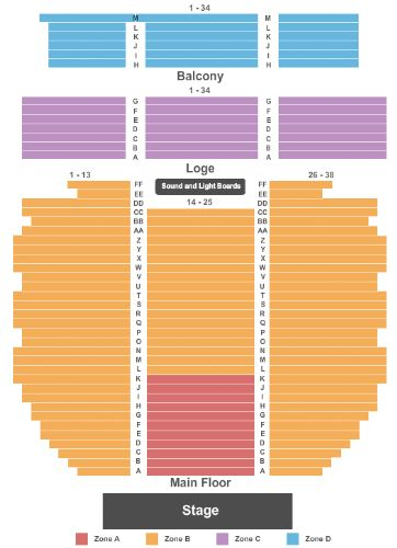 Mount Baker Theatre Tickets And Mount Baker Theatre Seating Chart