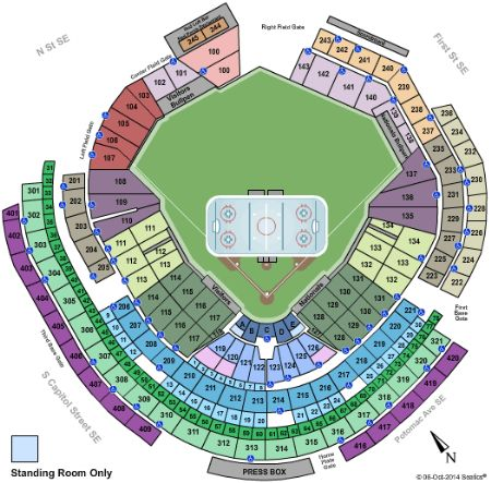 Nationals Park Tickets And Nationals Park Seating Chart Buy