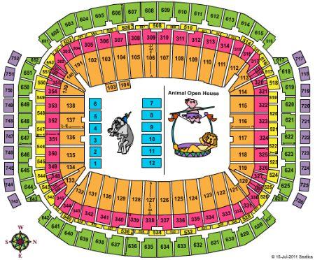 NRG Stadium Tickets and NRG Stadium Seating Chart - Buy ...
