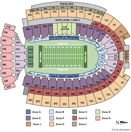 Ohio Stadium Tickets And Ohio Stadium Seating Chart Buy Ohio