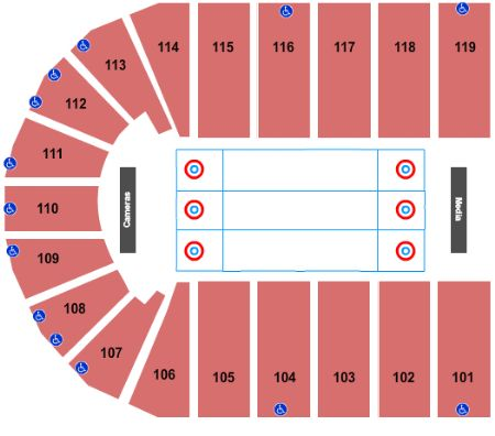 Orleans Arena The Orleans Hotel Tickets And Orleans Arena The Orleans Hotel Seating Chart Buy Orleans Arena The Orleans Hotel Las Vegas Tickets Nv At Stub Com